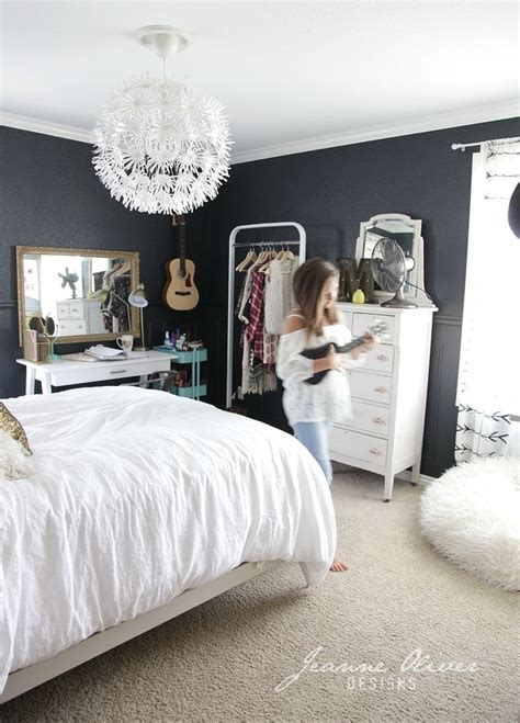 gray girl bedroom teen girl bedroom makeover jeanne oliver a interior design
