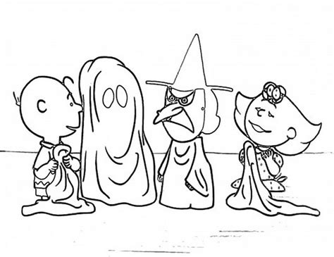 coloring pages charlie brown halloween charlie brown and snoopy christmas coloring page free