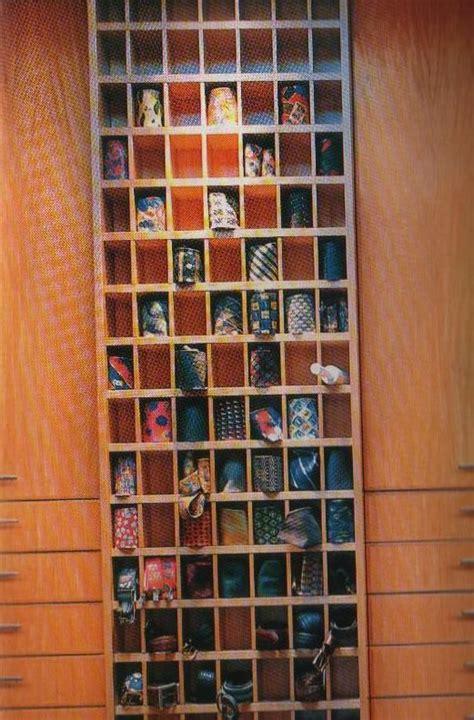 tie racks for the obsessive