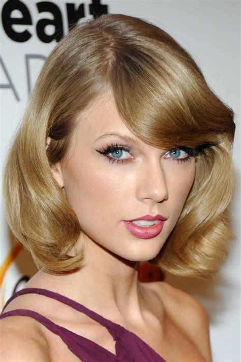 taylor swift 2015 short haircut back view bob hairstyles the best celebrity bobs to inspire your hairdo