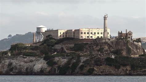 famous alcatraz island san francisco bay former prison ruins tour boat ship trip ultra high