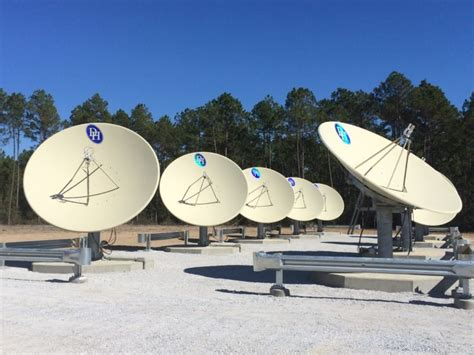 installation of satellite antenna infrastructure at building 9357 southeast construction
