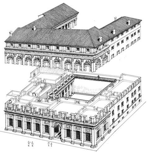 palazzo barbaran da porto vicenza ville palazzi e musei loreno confortini disegni drawings