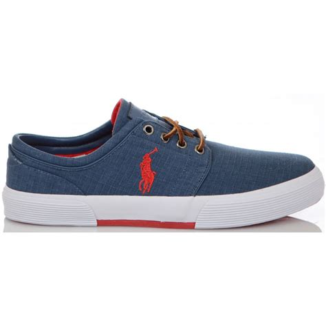 ralph shoes ralph shoes faxon low ne newport navy ripstop