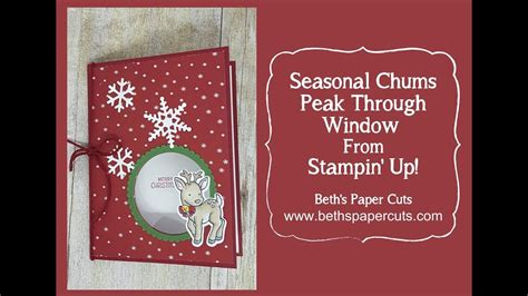 how to make a see through window card beth s paper cuts