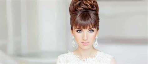 24 chic wedding hairstyles with bangs wedding forward