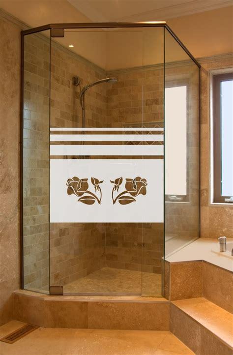 Fenster Dusche Sichtschutz by Aufkleber Glasdekor Dusche Sichtschutz 655 65cm Hoch