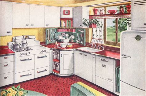1940 kitchen design 1947 american gas association mixing corner kitchen mid