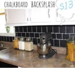 chalkboard kitchen backsplash 5 diy chalkboard kitchen backsplashes to make shelterness
