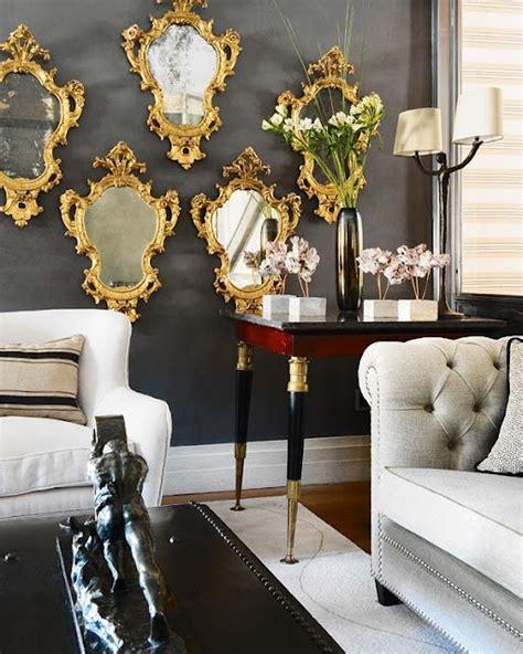 Plusieurs Miroirs Sur Un Mur by Une D 233 Co Parfaite Gr 226 Ce Au Miroir Bricobistro