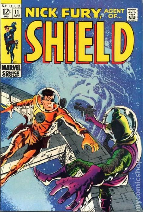 of fury books nick fury of shield 1968 1st series comic books