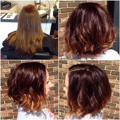 rich brown bob hair styles 1000 ideas about shattered bob on pinterest long lob