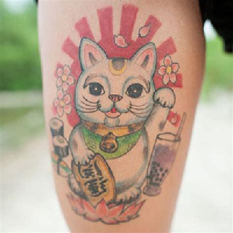 tattoo cat lucky 25 best ideas about lucky cat tattoo on pinterest yin