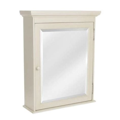 home depot white medicine cabinet cottage 23 5 8 surface mount medicine cabinet in antique white