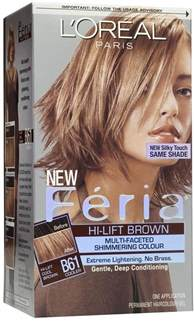 l oreal feria color chart l oreal feria hair color b61 hi lift cool brown 1