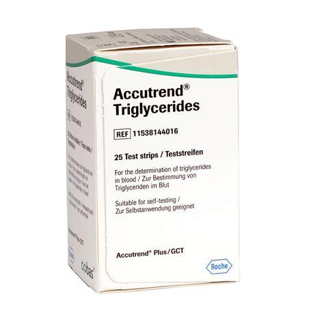 Accutrend Plus Triglycerides Jk1605t 1 accutrend triglycerides teststreifen 25 st 252 ck diashop