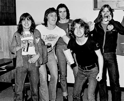 ac dc band photo bon scott the selvedge yard