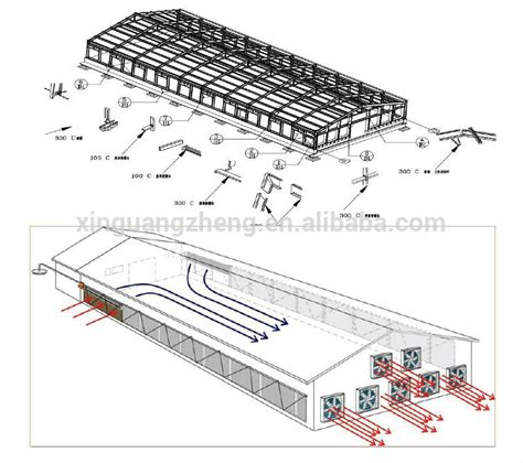 broiler hatchery layout chicken broiler farm house broiler poultry shed design