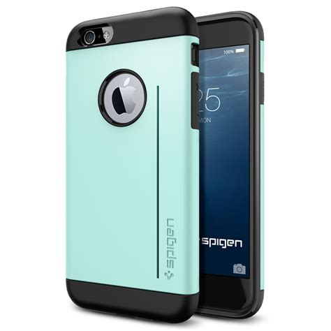 Spigen Slim Armor Iphone 6 4 7 Satin Silver spigen slim armor s dual layer protective for iphone 6 4 7 quot ebay