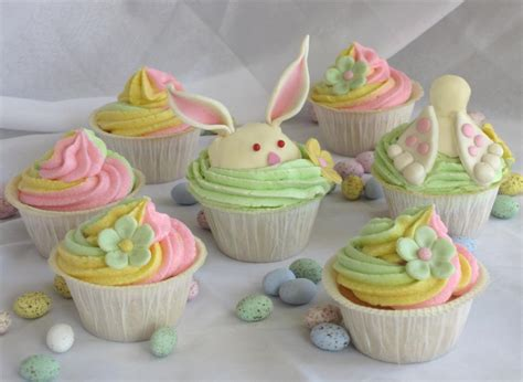 sweet easter cupcakes