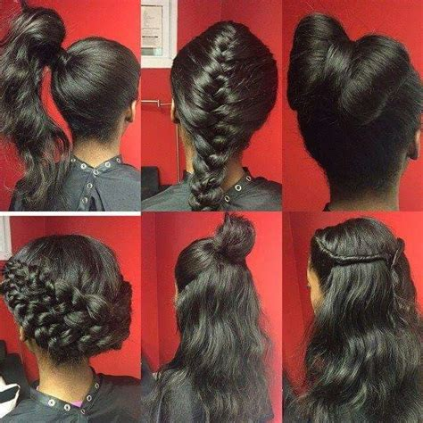 best wayto have a weave sown in for short hair 30 best images about sew in on pinterest bangs body