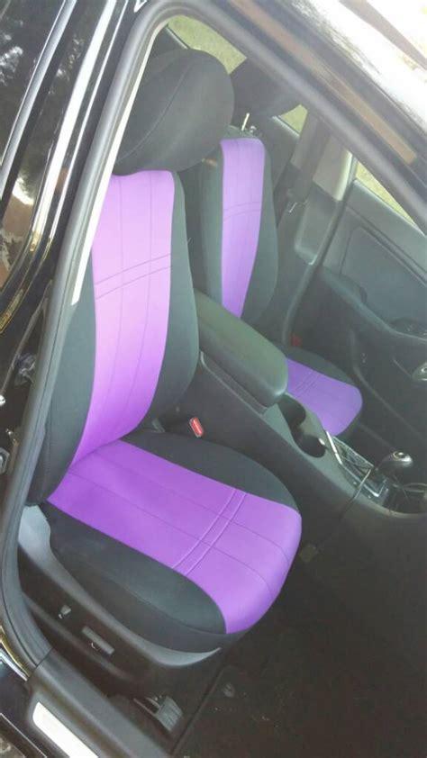 fs caltrend blackpurple neoprene seat covers