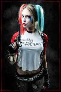 Diy harley quinn suicide squad cosplay and makeup tutorial
