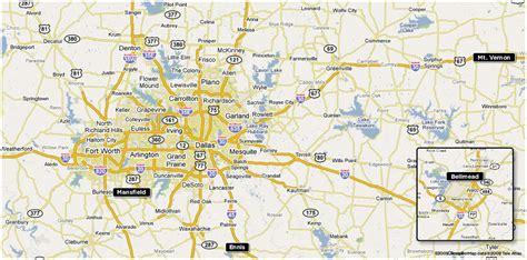 map of waco area kem billboards dallas tx area