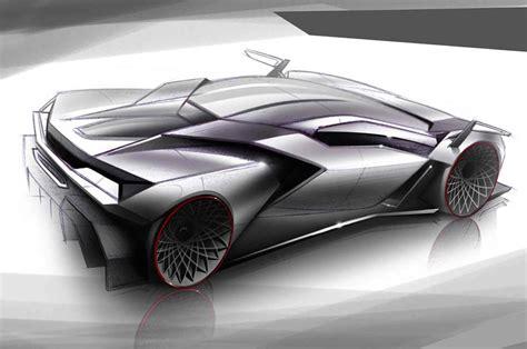 lamborghini cnossus supercar concept version lamborghini cnossus concept design sketch car body design