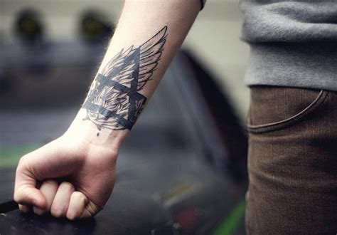 wing tattoo on forearm 41 wonderful geometric wrist tattoos design