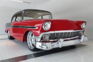 1956 chevrolet bel air 2 door post custom 79217