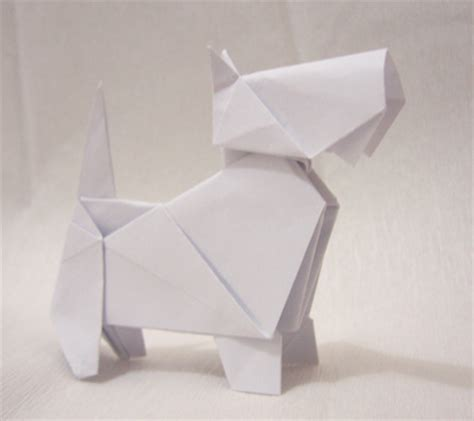 dogs in origami 30 breeds from terriers to hounds books scottie origami aterrier