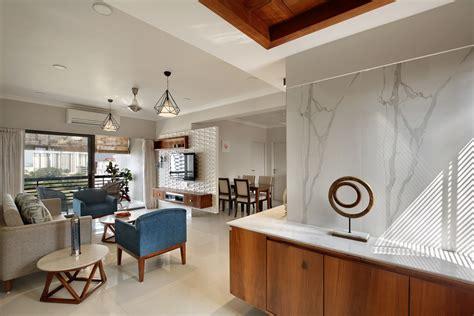 bhk flat interior design   india