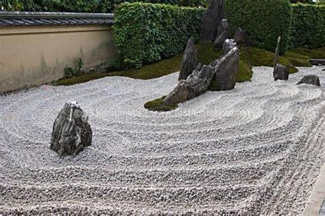 Zen Rock Gardens Japanese Rock Garden Texture