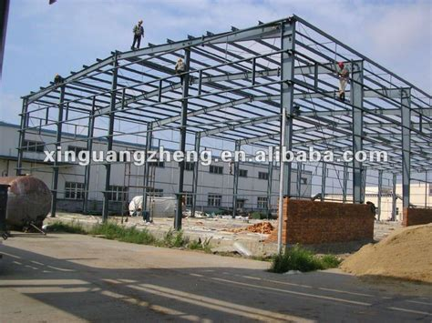 Structural Steel Shed Design by Construction Design Light Steel Structure Warehouse