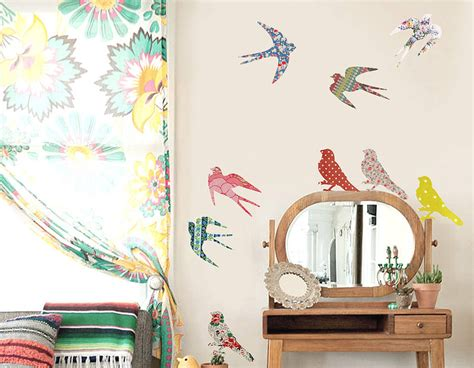 bird wall stickers vintage bird vinyl wall stickers contemporary wall