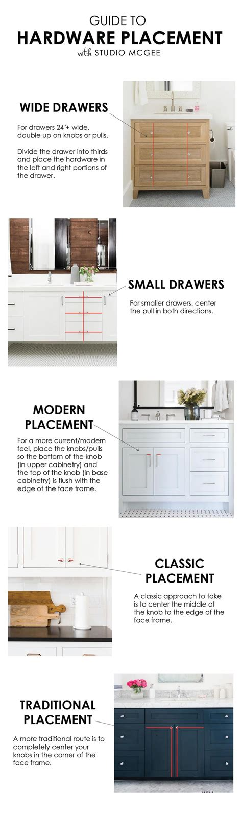 kitchen cabinet hardware placement hardware placement guide studio mcgee