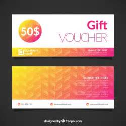free gift voucher template gift voucher template vector free