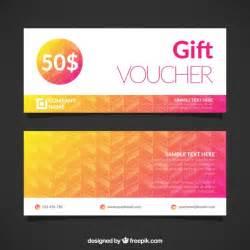 voucher templates free gift voucher template vector free