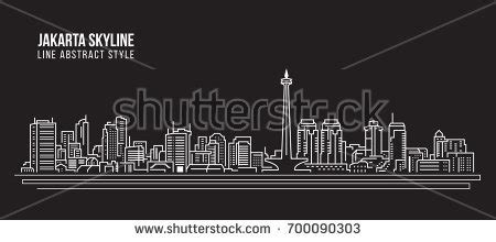 skyline design indonesia scape stock images royalty free images vectors