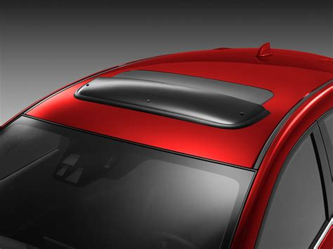 mazda manufacturer 2014 mazda 3 factory oem moonroof wind deflector