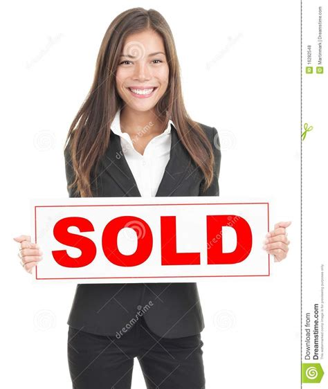 how to be a realtor real estate agent sign stock photo image of friendly