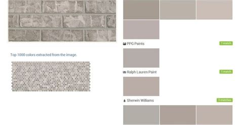 behr paint color new brick thundercloud white gray brick general shale behr ppg