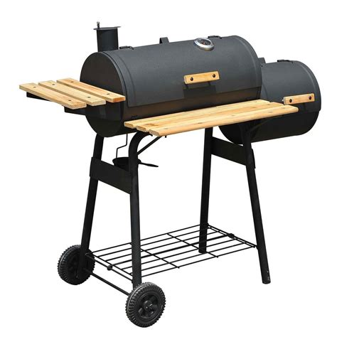 Barbecue Charcoal Grill 48 quot backyard bbq grill charcoal barbecue cooker offset