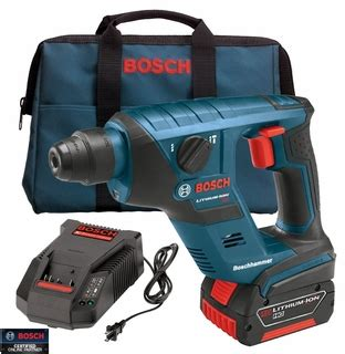 Bor Mini Bosch bosch tools rhs181k 18 v 1 2 quot cordless sds plus rotary hammer w fatpack bat