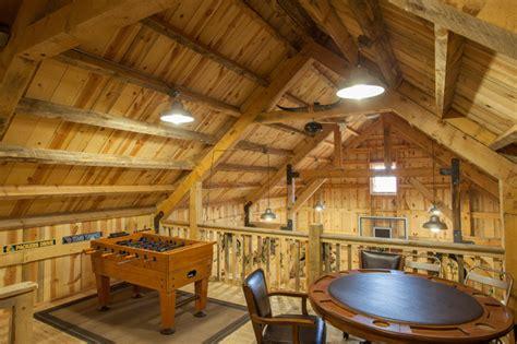 loft living in a nebraska barn home traditional living nebraska party barn traditional family games room