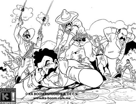 revolucion coloring pages mexican revolution coloring pages