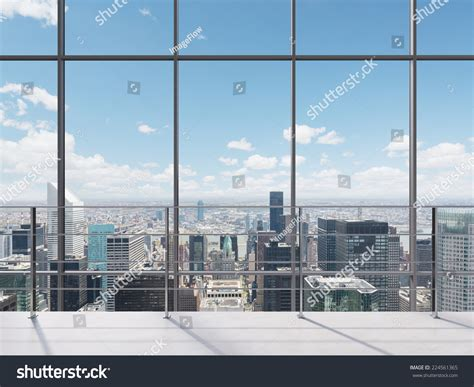 Office City by Manhattan Office City View Stock Photo 224561365