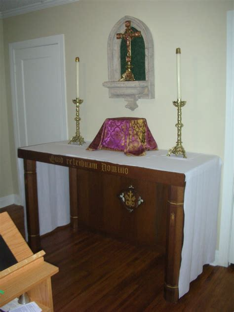 catholic home altar ideas search prayer room