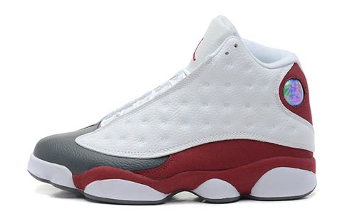 air jordan 13 men c mens air jordan 13 retro white team red flint grey for